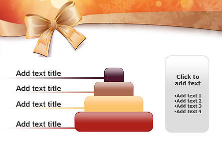 Christmas Bow-knot PowerPoint Template Slide 8