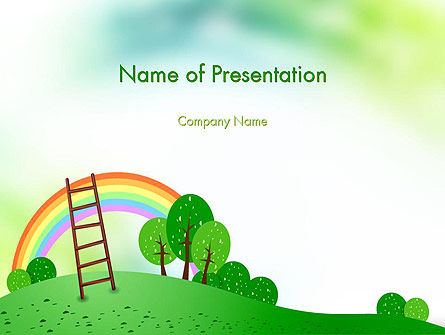 Kindergarten Theme PowerPoint Template
