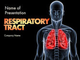 Medical: Respiratory Care PowerPoint Template #11586