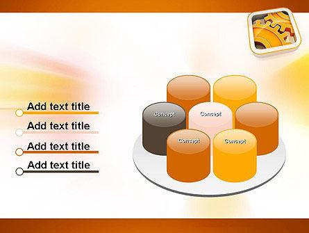 Cogwheel Gears PowerPoint Template Slide 12