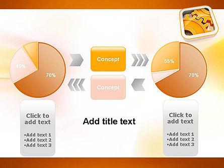 Cogwheel Gears PowerPoint Template Slide 16