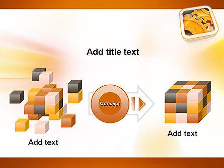 Cogwheel Gears PowerPoint Template Slide 17