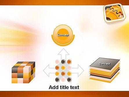 Cogwheel Gears PowerPoint Template Slide 19