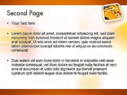 Cogwheel Gears PowerPoint Template Slide 2