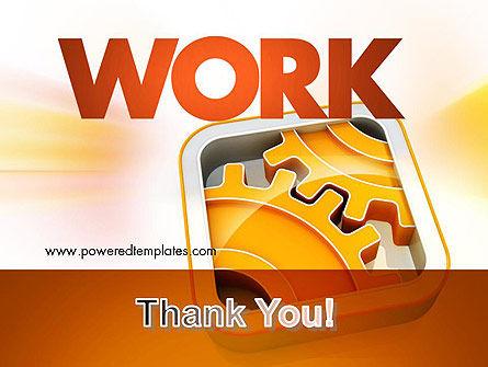 Cogwheel Gears PowerPoint Template Slide 20
