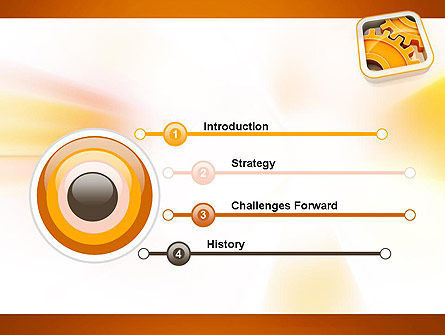 Cogwheel Gears PowerPoint Template Slide 3