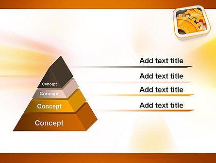 Cogwheel Gears PowerPoint Template Slide 4