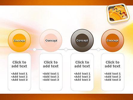 Cogwheel Gears PowerPoint Template Slide 5