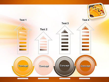 Cogwheel Gears PowerPoint Template Slide 7