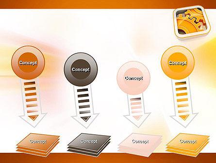 Cogwheel Gears PowerPoint Template Slide 8