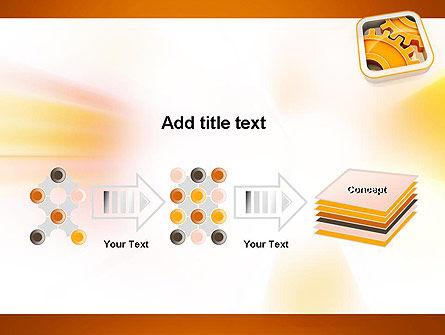 Cogwheel Gears PowerPoint Template Slide 9