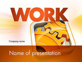 Business Concepts: Cogwheel Gears PowerPoint Template #11587