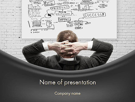 Creativity at Work PowerPoint Template, 11588, Business Concepts — PoweredTemplate.com