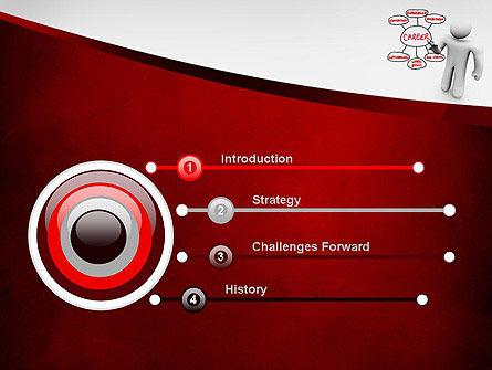 Building Blocks to Successful Career PowerPoint Template, Slide 3, 11590, Careers/Industry — PoweredTemplate.com