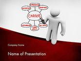 Careers/Industry: Building Blocks to Successful Career PowerPoint Template #11590