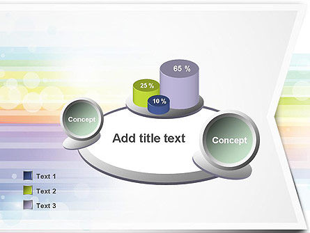 Soft Color Horizontal Lines PowerPoint Template Slide 16
