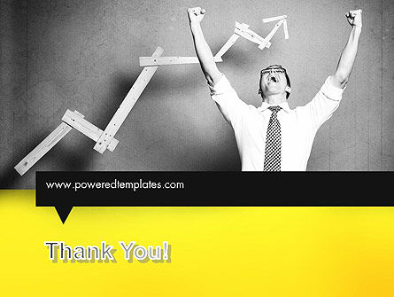 Winning Businessman PowerPoint Template Slide 20