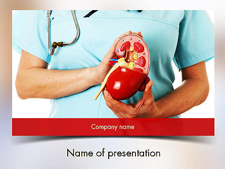 Medical: Kidney Health PowerPoint Template #11595