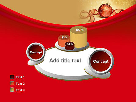 Red-gold Christmas Theme PowerPoint Template Slide 16