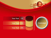 Red-gold Christmas Theme PowerPoint Template#11