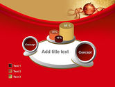 Red-gold Christmas Theme PowerPoint Template#16