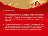 Red-gold Christmas Theme PowerPoint Template#2