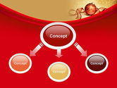 Red-gold Christmas Theme PowerPoint Template#4