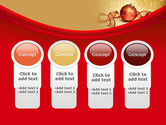Red-gold Christmas Theme PowerPoint Template#5