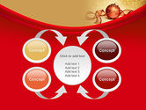 Red-gold Christmas Theme PowerPoint Template#6