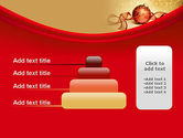 Red-gold Christmas Theme PowerPoint Template#8