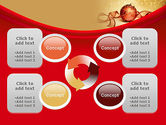 Red-gold Christmas Theme PowerPoint Template#9