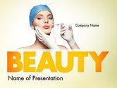 Medical: 美容整形 - PowerPointテンプレート #11597