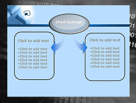 Upload to Cloud Button PowerPoint Template Slide 4