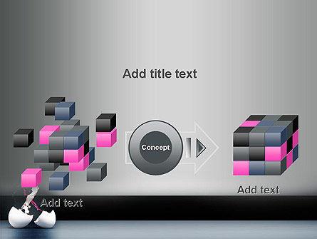 Splash of Color from Broken Egg PowerPoint Template Slide 17