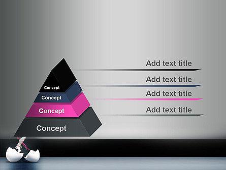 Splash of Color from Broken Egg PowerPoint Template Slide 4
