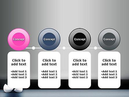 Splash of Color from Broken Egg PowerPoint Template Slide 5