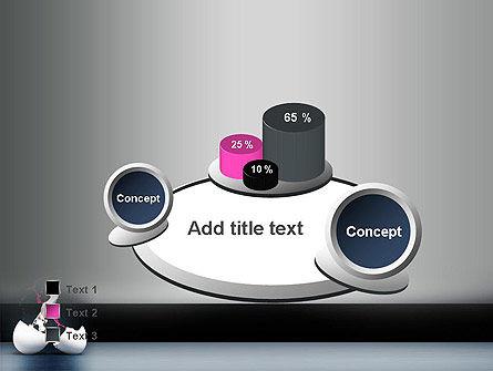Splash of Color from Broken Egg PowerPoint Template Slide 6