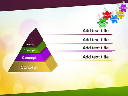 Working Together Team PowerPoint Template Slide 12