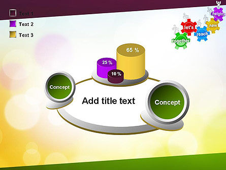 Working Together Team PowerPoint Template Slide 16