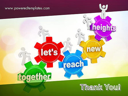 Working Together Team PowerPoint Template Slide 20