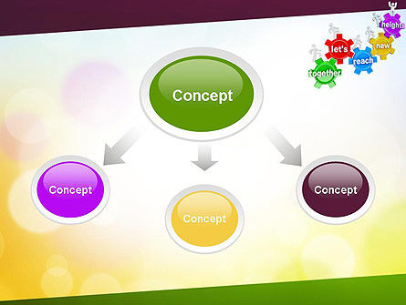 Working Together Team PowerPoint Template Slide 4
