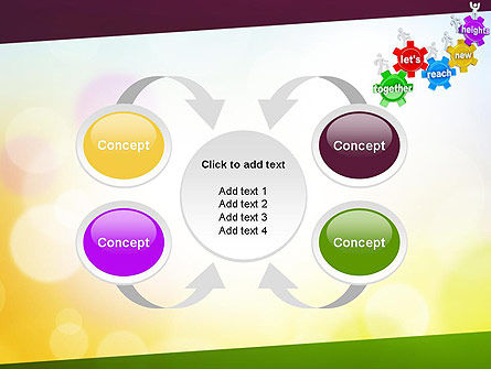 Working Together Team PowerPoint Template Slide 6
