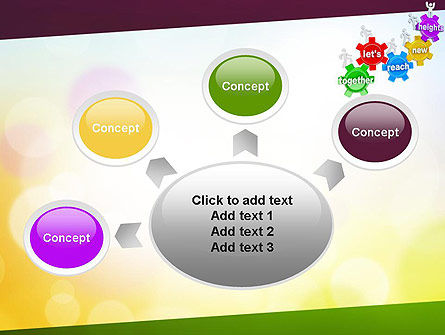 Working Together Team PowerPoint Template Slide 7