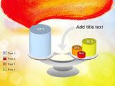 Watercolor Speech Bubble PowerPoint Template#10