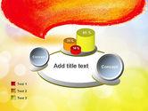 Watercolor Speech Bubble PowerPoint Template#16