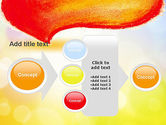 Watercolor Speech Bubble PowerPoint Template#17