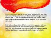 Watercolor Speech Bubble PowerPoint Template#2