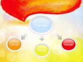 Watercolor Speech Bubble PowerPoint Template#4