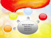 Watercolor Speech Bubble PowerPoint Template#7