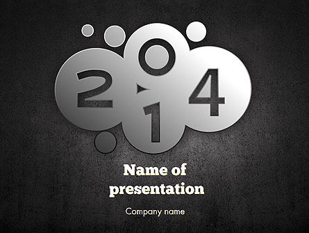Metal Style 2014 PowerPoint Template